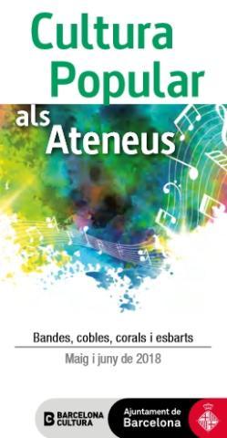 Neix el cicle de Cultura Popular als Ateneus de Barcelona