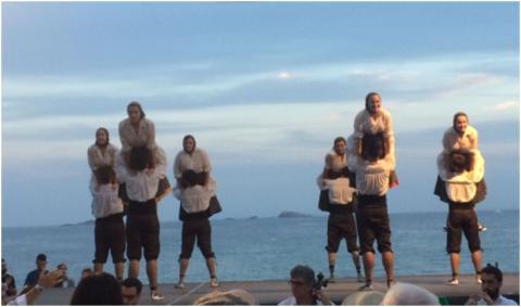 Esbarts Sant Jordi i Joventut Nostra a Eivissa