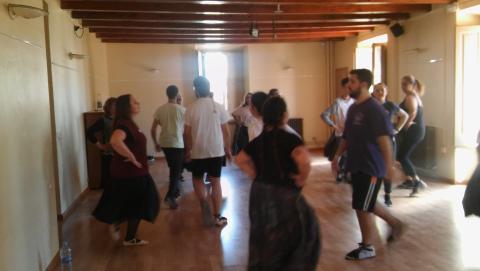 l'Espolsada, nou taller per apendre repertori