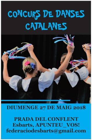 Concurs de danses catalanes a Prada de Conflent