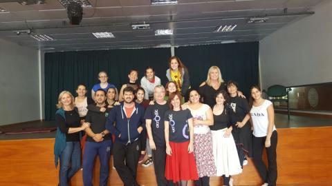 8È Taller de Dansa Catalana de la Xarxa de Comunitats Catalanes de l'exterior del Con Sud d'AMèrica al Casal Català de Montevideo